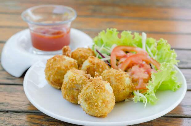 Картофельные крокеты вкусно, интересное, картофель, полезно, рецепт