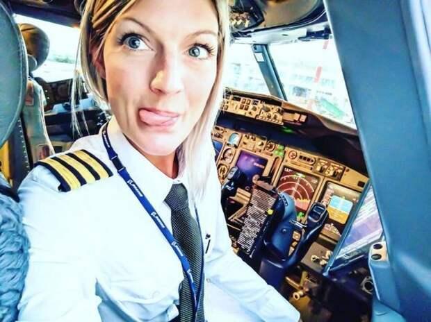 Женщина-пилот стала звездой Instagram