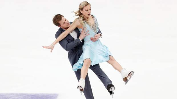 Синицина и Кацалапов превзошли мировой рекорд в ритм-танце на этапе Гран-при в Москве