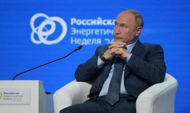 «Началась постепенная откачка»: Путин обвинил Украину в воровстве российского газа