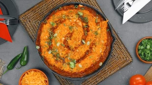 Энчилада с рисом и фасолью: аппетитное мексиканское блюдо