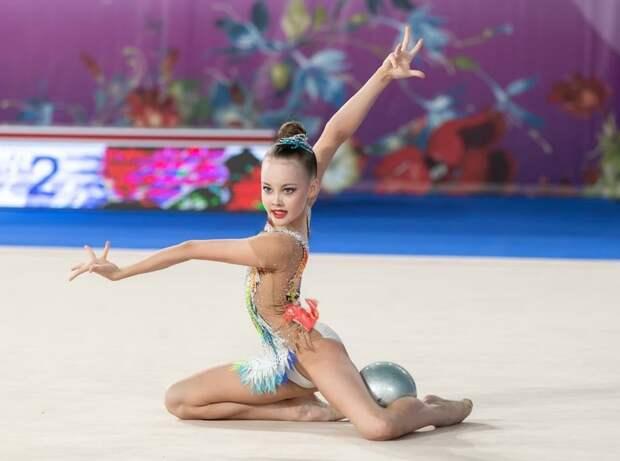 Юная гимнастка из Куркина стала призером Первенства Москвы