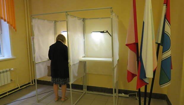 180 человек проголосовали по поправкам в Конституцию в лицее №15 Мытищ