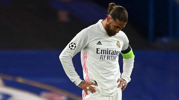«Реал» объявил обуходе Рамоса изклуба