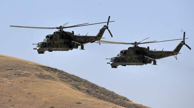 Турция атаковала два российских вертолета в Сирии