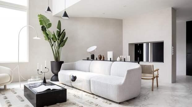 Каменный дом в стиле финского минимализма – проект компании HEVI kivitalot и дизайнера Лауры Сеппанен - «Интерьер»