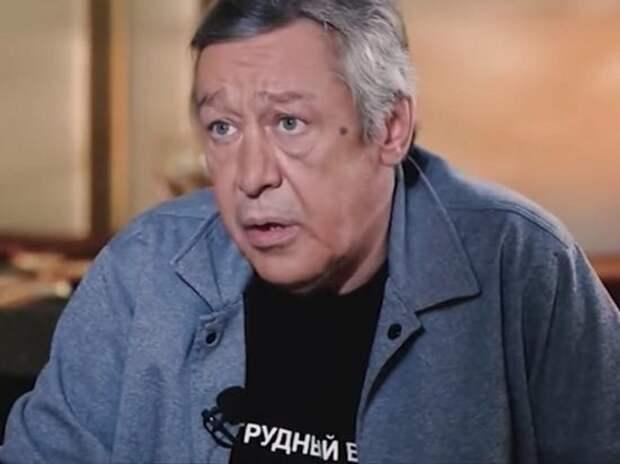 У Михаила Ефремова случился сердечный приступ в годовщину смерти матери