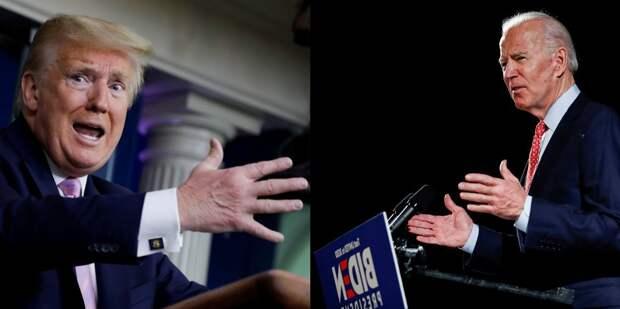 Трамп настаивает, что Байден проиграл президентские выборы в США