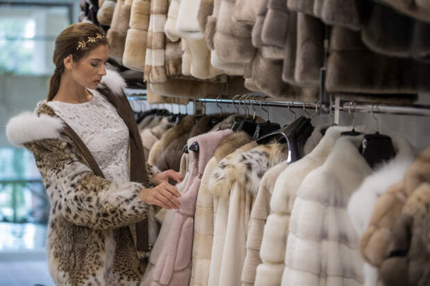 Леопардовое пальто