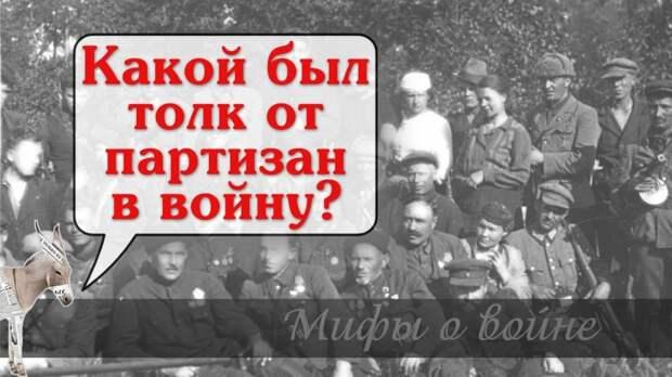 Какой был толк от партизан в войну? | Уши машут ослом (83)