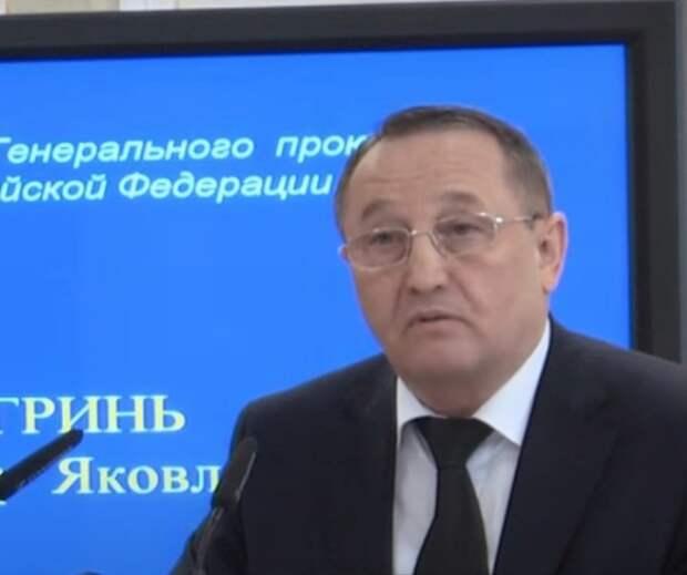 Путин уволил Виктора Гриня с должности замгенпрокурора