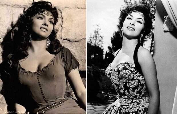Джина Лоллобриджида - итальянская актриса 1950-х-начала 1960-х годов.