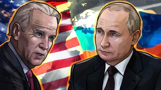 Ситуация в Донбассе стала одной из тем переговоров Путина и Байдена