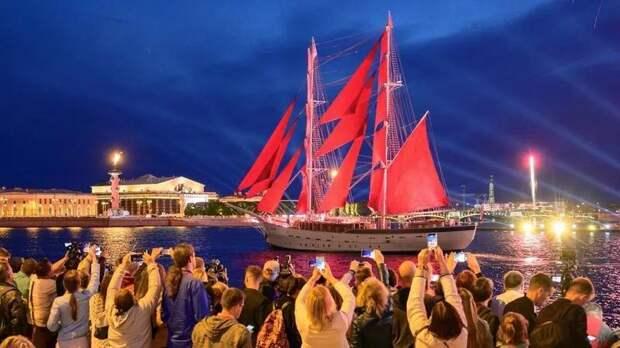 «Алые паруса» получили премию Комитета по развитию туризма как лучший праздник