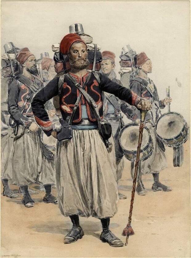 Зуавы. Новые и необычные военные части Франции