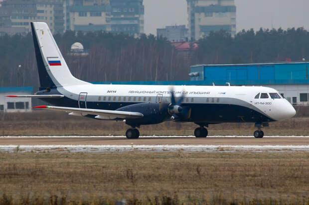 Новый пассажирский Ил-114-300 впервые поднялся в воздух