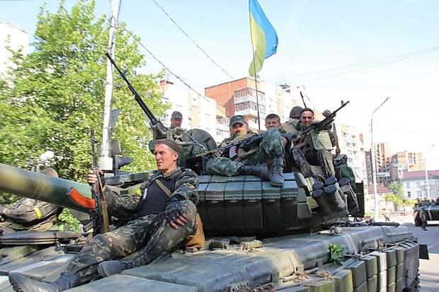 «Когда Кремль будет ослаблен» - украинские националисты уже мечтают о концлагерях в Донбассе