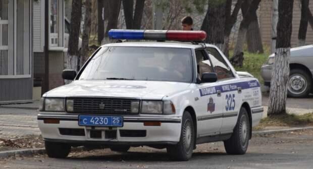 Необычные автомобили полиции на Дальнем Востоке. Фото