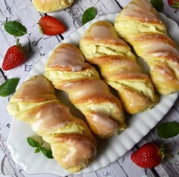 Вкусные КPАКОВСКИЕ булочки со СЛИВОЧНЫМ сыром