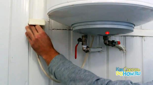 Как почистить ТЭН водонагревателя от накипи