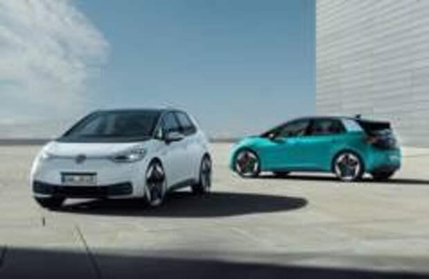 Volkswagen представил серийный электромобиль