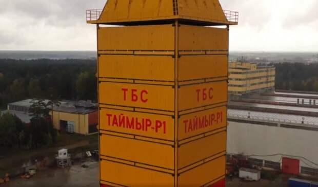 Буровая «Таймыр-Р1» «Урало-Сибирской Промышленной Компании» приступила косвоению Арктики