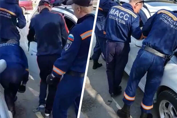 Годовалый ребенок оказался заперт в машине — на помощь пришли спасатели
