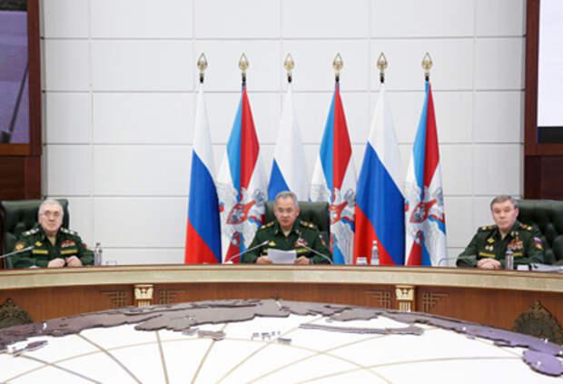 заседание Коллегии Минобороны РФ