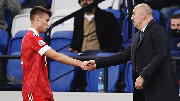 Мостовой — об обратной замене в матче за сборную: «Тяжеловато было, но я не сломался. Даже благодарен Черчесову»