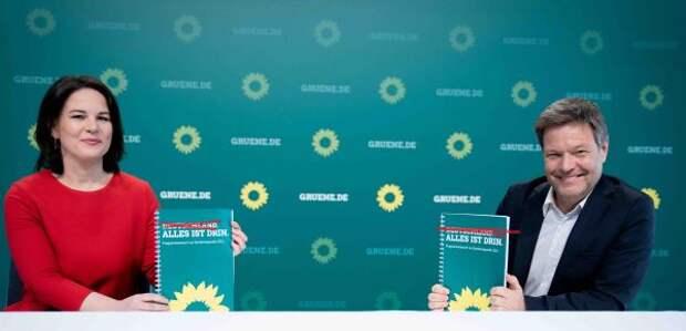 «Зелёные» испугались имени «Германия»— вызывает «очень негативные ассоциации»