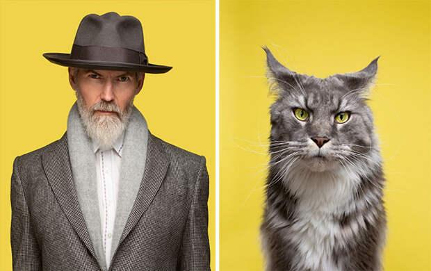 Фотограф делает снимки людей икотов, которые выглядят как двойники | Канобу - Изображение 9