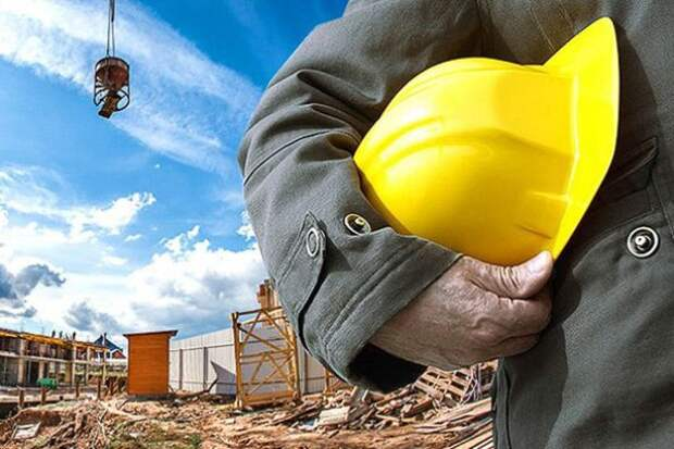 Месячник безопасного труда в строительных организациях.