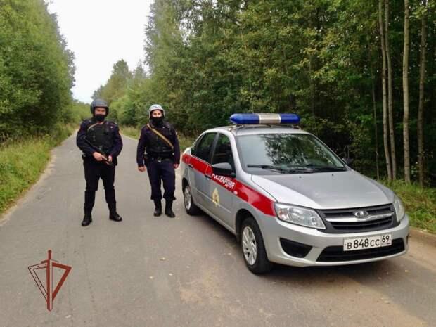 Росгвардейцы в Калязинском районе задержали магазинного грабителя