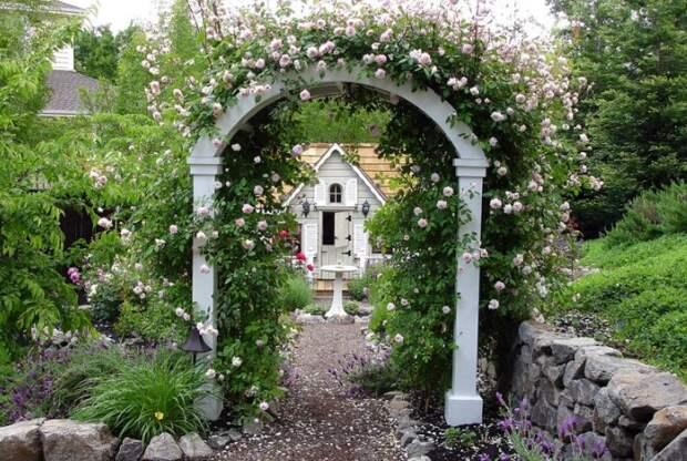 Садовые арки - ландшафтное решение, которому обзавидуются соседи