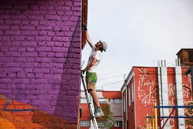 «Портит весь вид!» Фестиваль стрит-арта огорчил консерваторов Орехово-Зуева