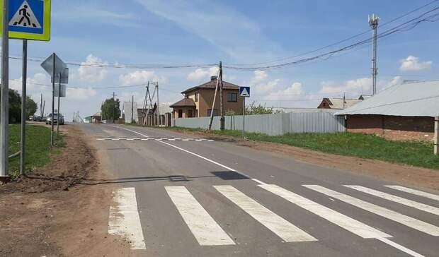 Дорогу до села Шевырялово восстановили в Удмуртии