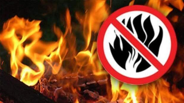 МЧС: Экстренное предупреждение о чрезвычайной пожарной опасности на 12-14 мая по Республике Крым