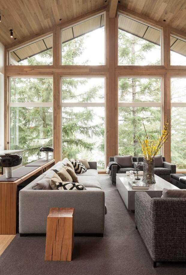 Дом в стиле шале – функциональная альпийская эстетика (82 фото)