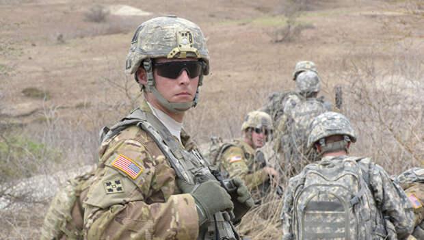 Солдаты армии США во время учений в Сенегале. Архивное фото