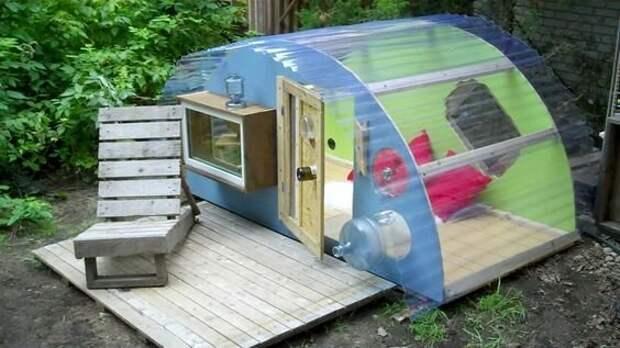 8 идей из поликарбоната для дачи и дома