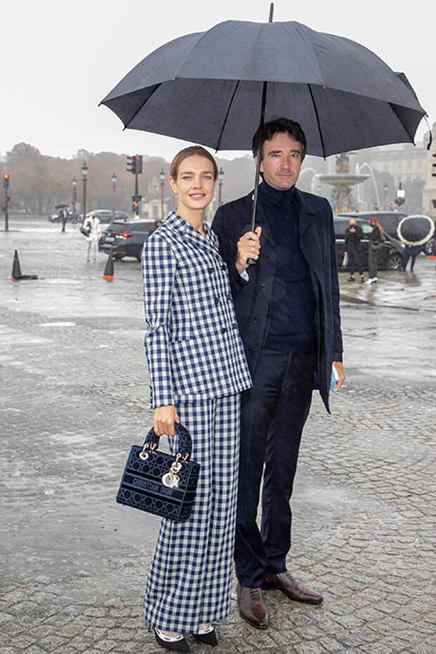 Наталья Водянова и Антуан Арно впервые вышли в свет после свадьбы