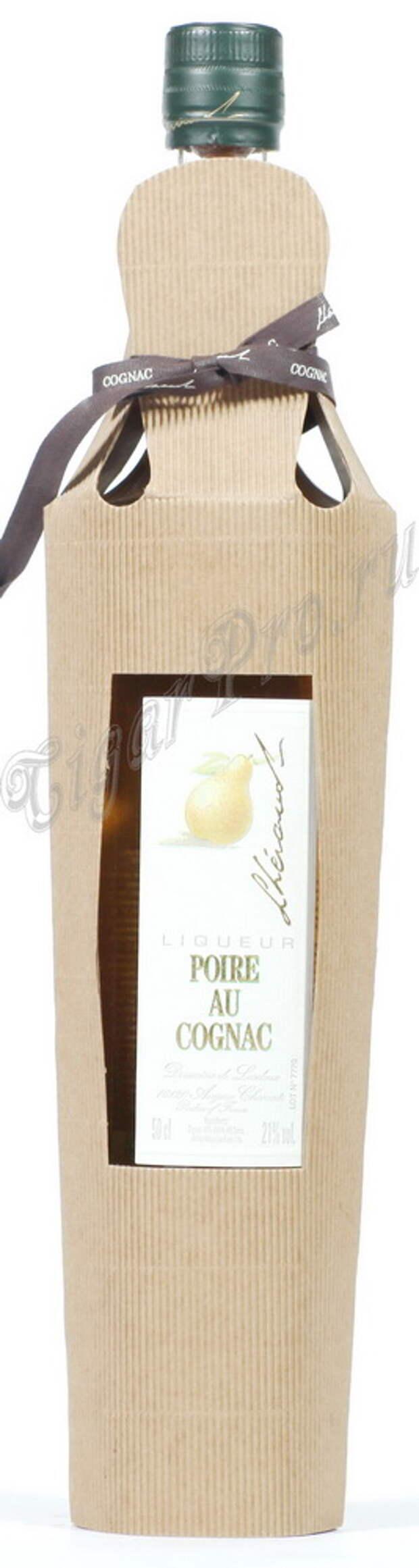 Ликер Poire Au Cognac Ликер Леро Груша на Коньяке