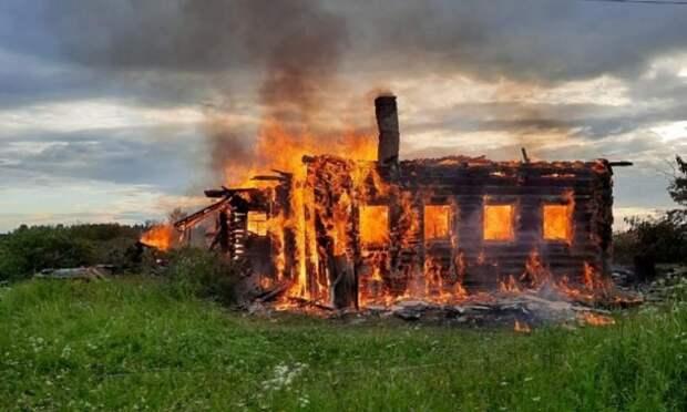 ВКаргопольском районе собака спасла хозяев отпожара