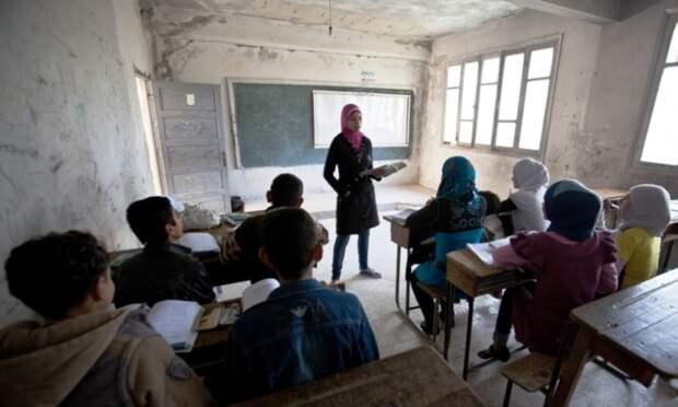 ЮНИСЕФ: две школы в Сирии подверглись обстрелам