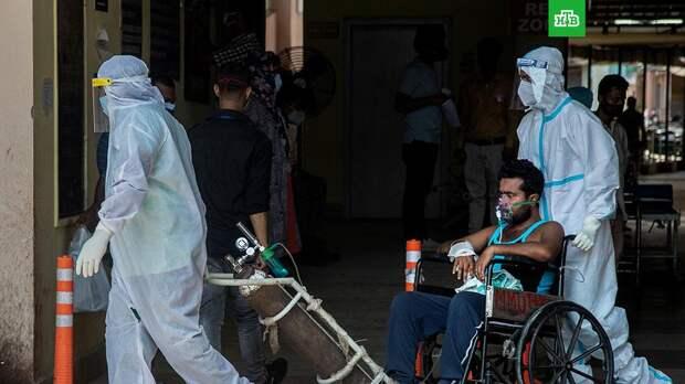 Bloomberg: индийский штамм COVID-19 приводит к гангренам