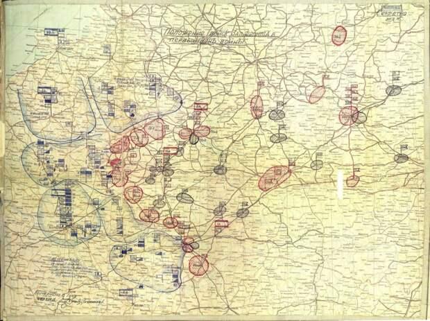Положение войск Западного Фронта на 22.06.1941 г. / ©mil.ru