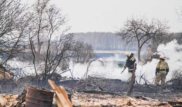 Глава омского поселения попала под уголовное дело после пожара вдеревне