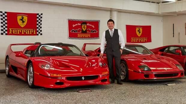 Ferrari F40 и F50 коллекционер, коллекция, спорткар, суперкар