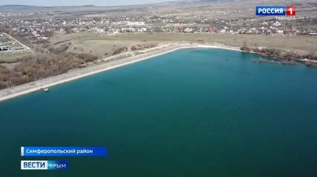 Питающие Симферополь Аянское водохранилище почти заполнено