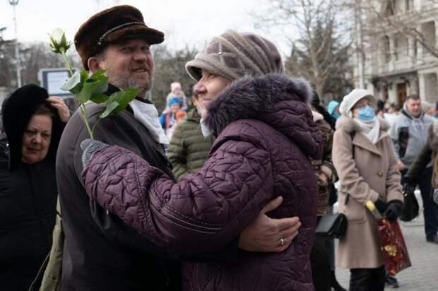 В Севастополе прошёл «Белый концерт»